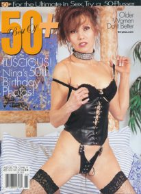 Front cover of 50+ Issue Volume 9 No 5 magazine