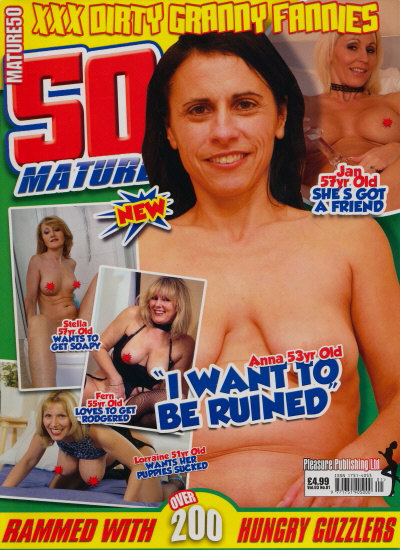 Front cover of Mature 50 Volume 3 No 1 magazine