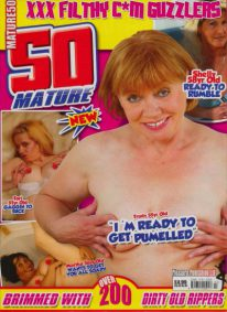 Front cover of Mature 50 Volume 3 No 3 magazine