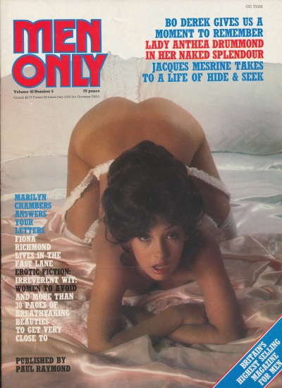 Front cover of Men Only Volume 45 No 5 magazine