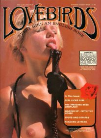 Front cover of Lovebirds No 35 magazine
