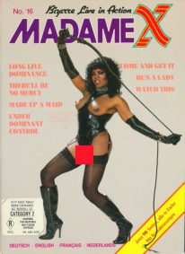 Front cover of Madame X 16 magazine