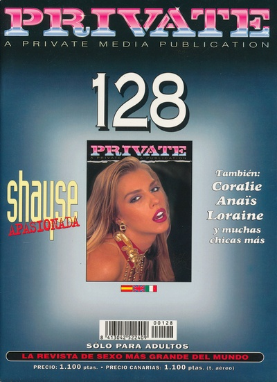 Front cover of Private 128 magazine