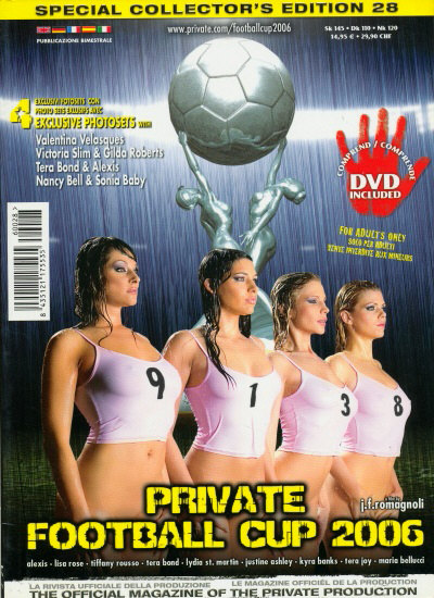 Front cover of Private Football Cup 2006 magazine