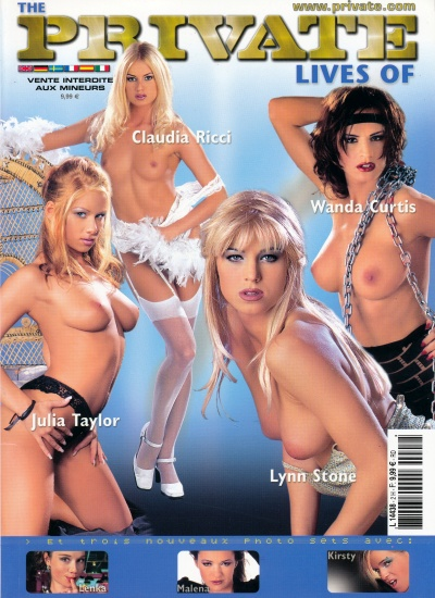 Front cover of Private Lives of 2 magazine
