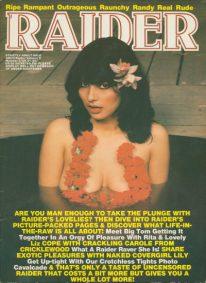 Front cover of Raider Volume 2 No 2 magazine