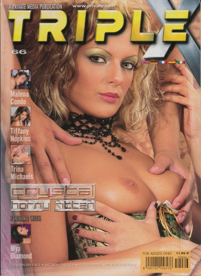 Front cover of Private Triple X 66 magazine