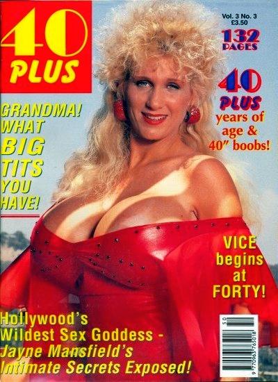 Front cover of 40 Plus Vol 3 No 3 magazine