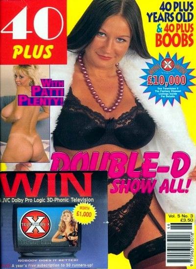 Front cover of 40 Plus Vol 5 No 3 magazine