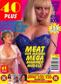 Front cover of 40 Plus Vol 5 No 4 magazine