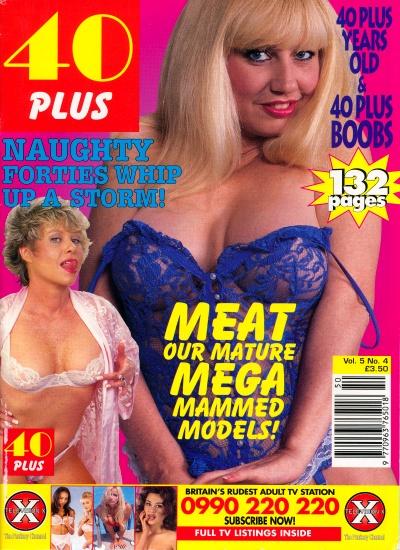 Front cover of 40 Plus Vol 5 No 4 magazine