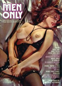 Front cover of Men Only Volume 41 No 12 magazine