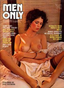 Front cover of Men Only Volume 41 No 7 magazine