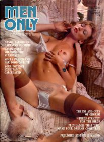Front cover of Men Only Volume 41 No 8 magazine