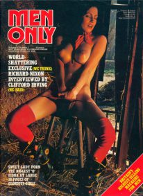 Front cover of Men Only Volume 42 No 7 magazine