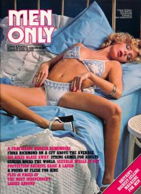 Front cover of Men Only Volume 42 No 8 magazine