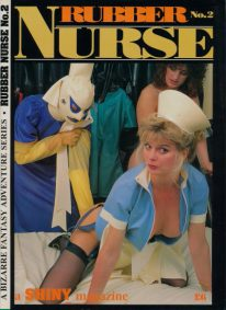 Front cover of Rubber Nurse No 2 magazine