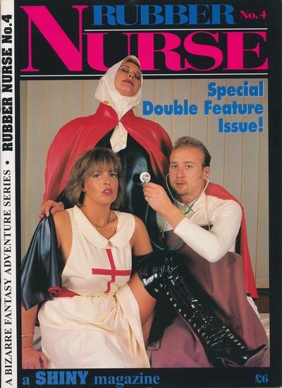 Front cover of Rubber Nurse No 4 magazine
