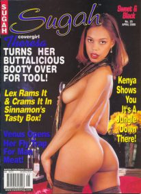Front cover of Sugah April 2000 magazine