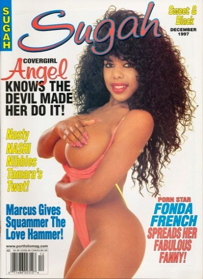 Front cover of Sugah December 1997 magazine