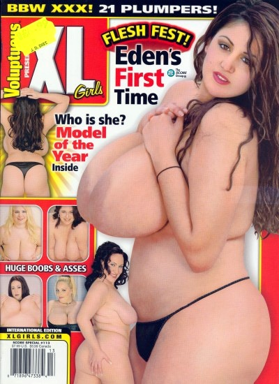 Front cover of Voluptuous XL Girls Issue 113
