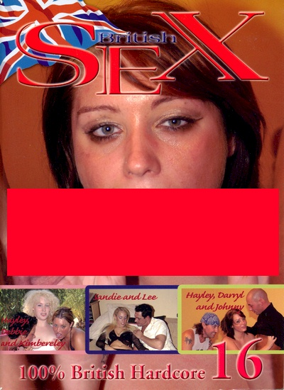Front cover of British Sex 16 magazine