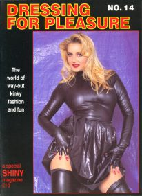 Front cover of Dressing For Pleasure No 14 magazine