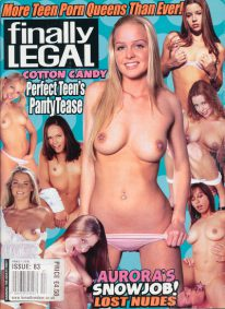 Front cover of Finally Legal May 2006 magazine