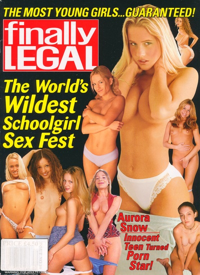 Front cover of Finally Legal October 2002 magazine