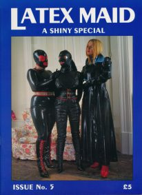Front cover of Latex Maid Issue 5 magazine