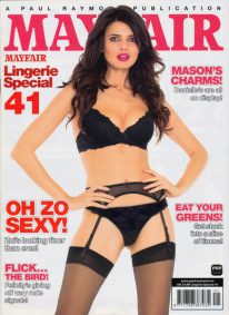 Front cover of Mayfair Lingerie Special No 41 magazine