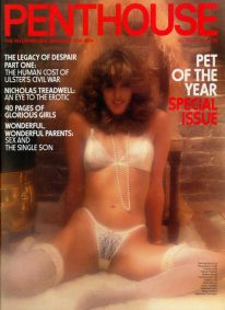 Front cover of Penthouse Volume 16 No 10 magazine