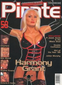 Front cover of Pirate 58 magazine