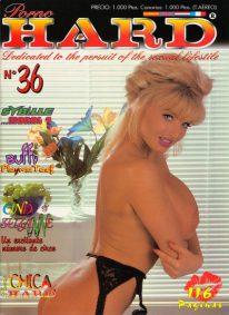 Front cover of Porno Hard No 36 magazine