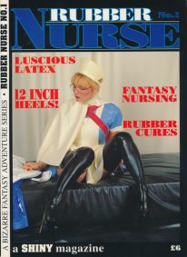 Front cover of Rubber Nurse No 1 magazine