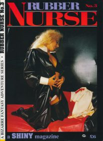 Front cover of Rubber Nurse No 3 magazine