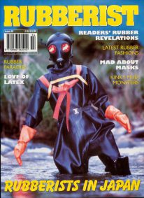 Front cover of Rubberist Issue 28 magazine