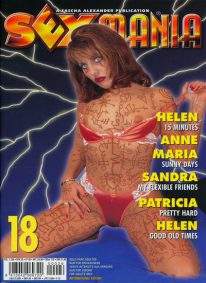 Front cover of Sexmania No 18 magazine