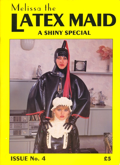 Front cover of Latex Maid Issue 4 magazine
