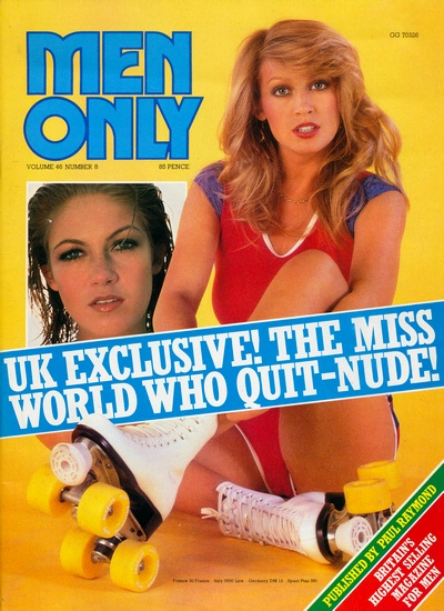 Front cover of Men Only Volume 46 No 8 magazine