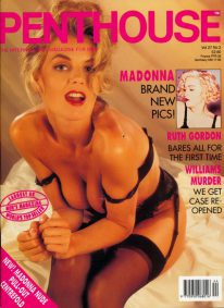 Front cover of Penthouse Volume 27 No 2 magazine
