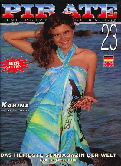 Front cover of Pirate 23 magazine