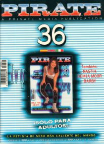Front cover of Pirate 36 magazine