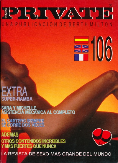 Front cover of Private 106 magazine