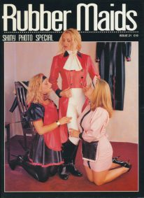 Front cover of Rubber Maids Issue 21 magazine