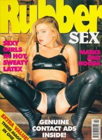 Front cover of Rubber Sex 2 magazine
