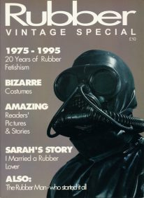 Front cover of Rubber Vintage Special magazine