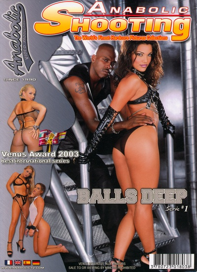 Front cover of Anabolic Shooting Balls Deep 1 magazine