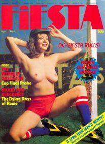 Front cover of Fiesta Volume 11 No 4 magazine