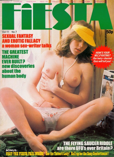 Front cover of Fiesta Volume 11 No 7 magazine